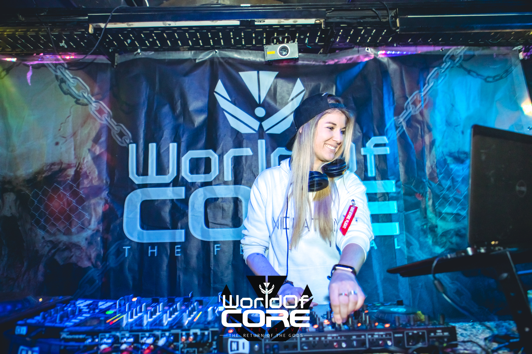 DJ Nicination bei World of Core